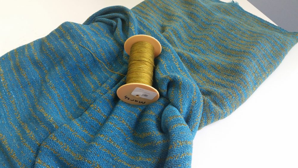 Hand woven, hand dyed