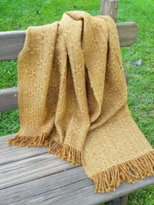 Handwoven Lace Stole