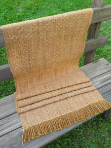 Handwoven Lace Stole
